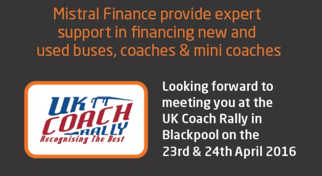 Mistral UK Coach Rally 2016