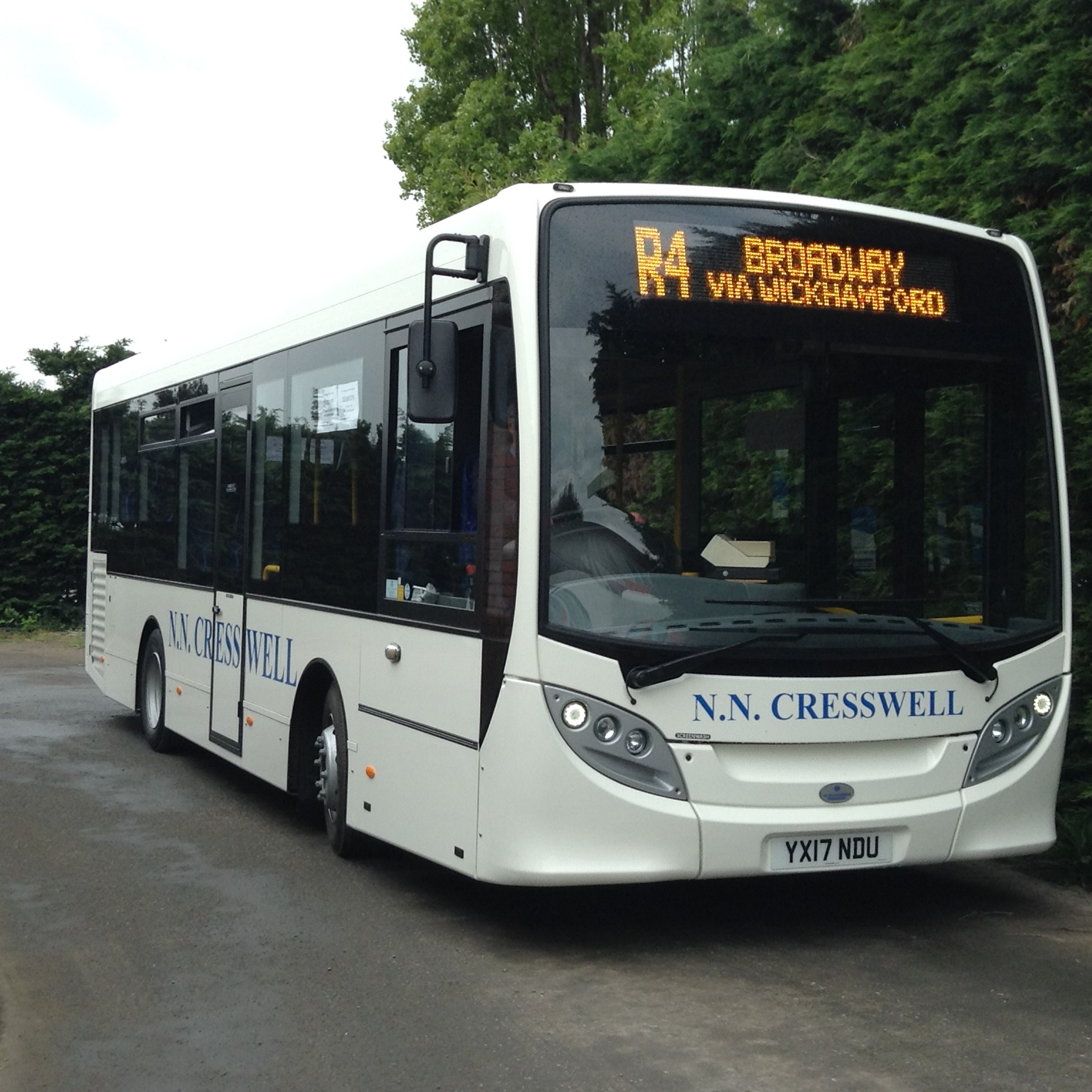 Another Enviro 200 supplied by Mistral!