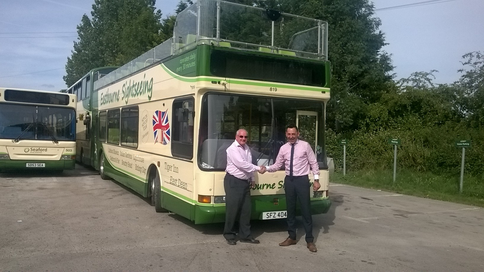 Mistral Group helps Seaford further invest in 4 X E200 Buses!